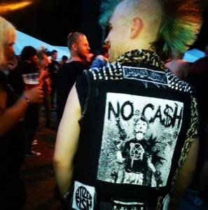 Ingen punk-festival uten den klassiske punkeren