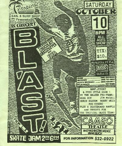 blast flyer