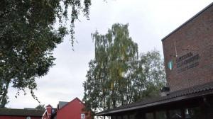Orkdal Kulturhus - sett utenfra