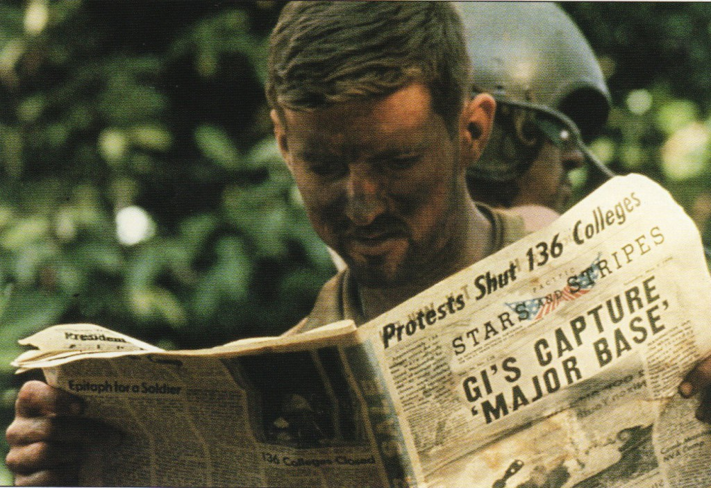 American_soldier_during_the_Cambodian_Campaign,_reading_the_Stars_and_Stripes