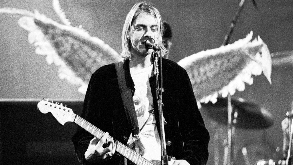 Kurt Cobain of Nirvana (Photo by Kevin Mazur/WireImage)